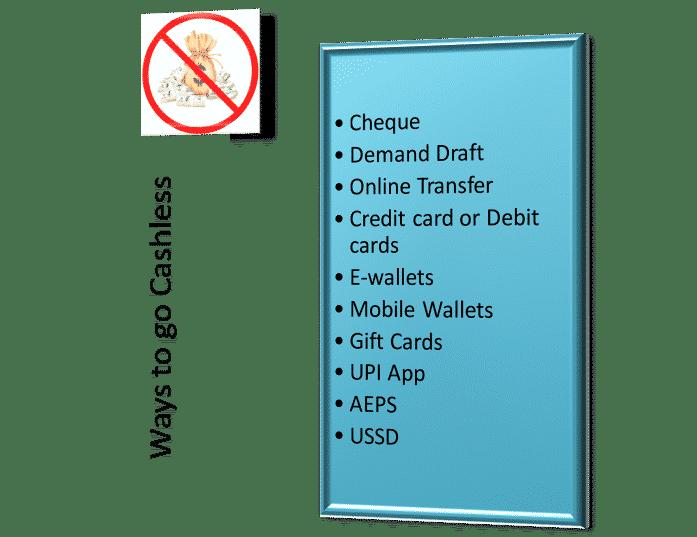 ways to go cashless