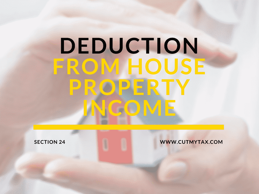 Deduction from house property section 24