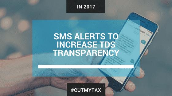 sms alert for TDS