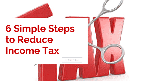 6 simple steps to reduce tax