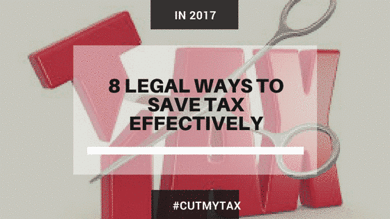 8 legal ways to save tax