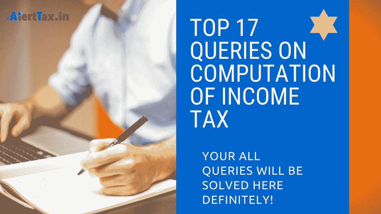computation of income tax