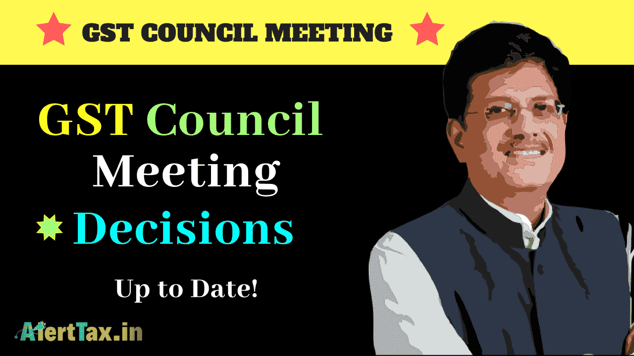 gst council meeting decisions
