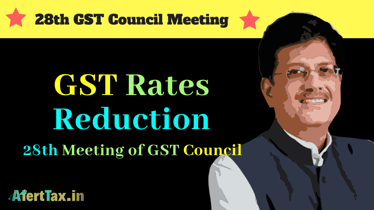 gst rates reduction