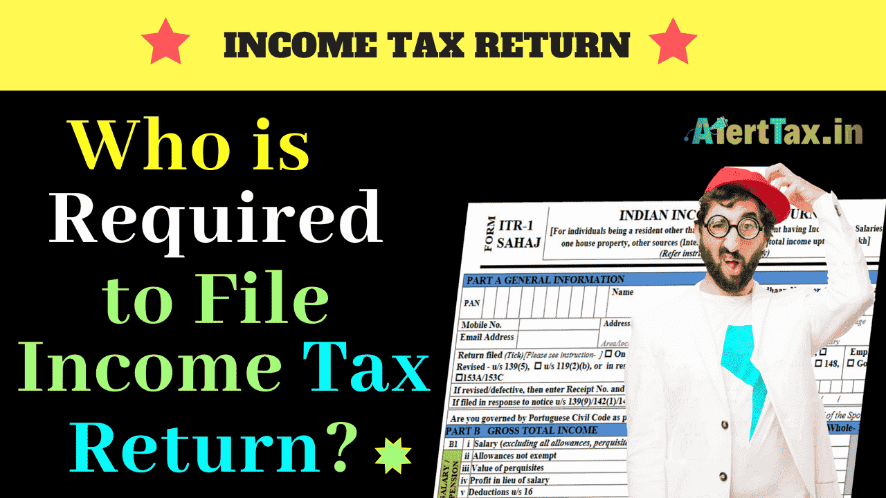 who is required to file income tax return
