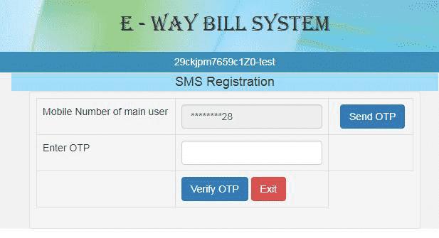 sms registration